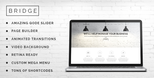 Bridge v6.6 – Creative Multi-Purpose WordPress Theme