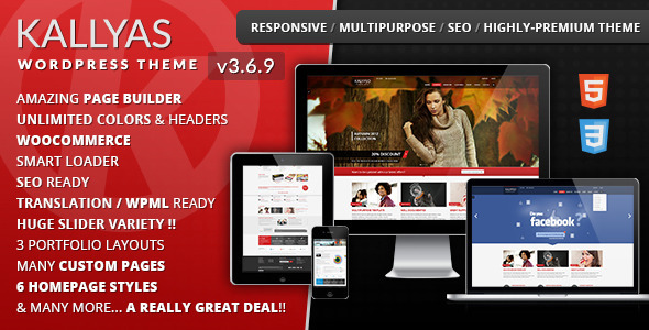 KALLYAS v3.6.7 – Responsive Multi-Purpose WordPress Theme