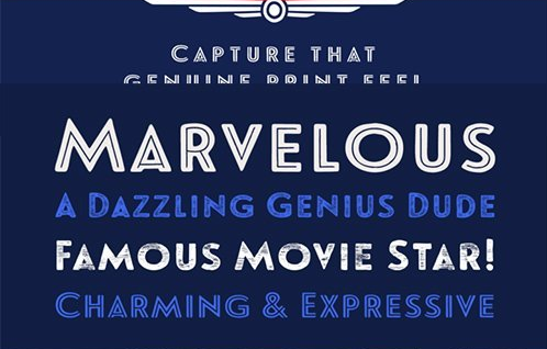 Download Le Havre Rough Font Family Free