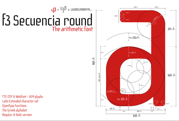 Download f3 Secuencia round Font Free