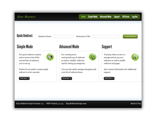Download Easy Redirect Script Free
