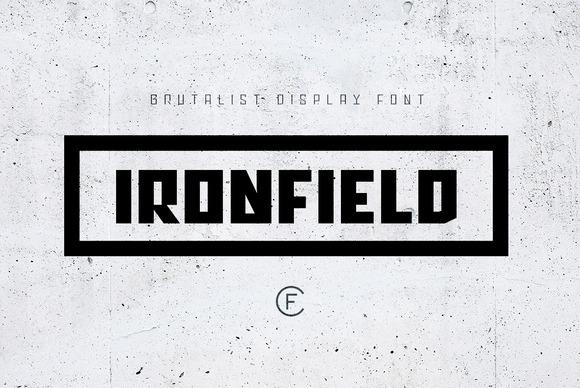 Download Ironfield CF font Free