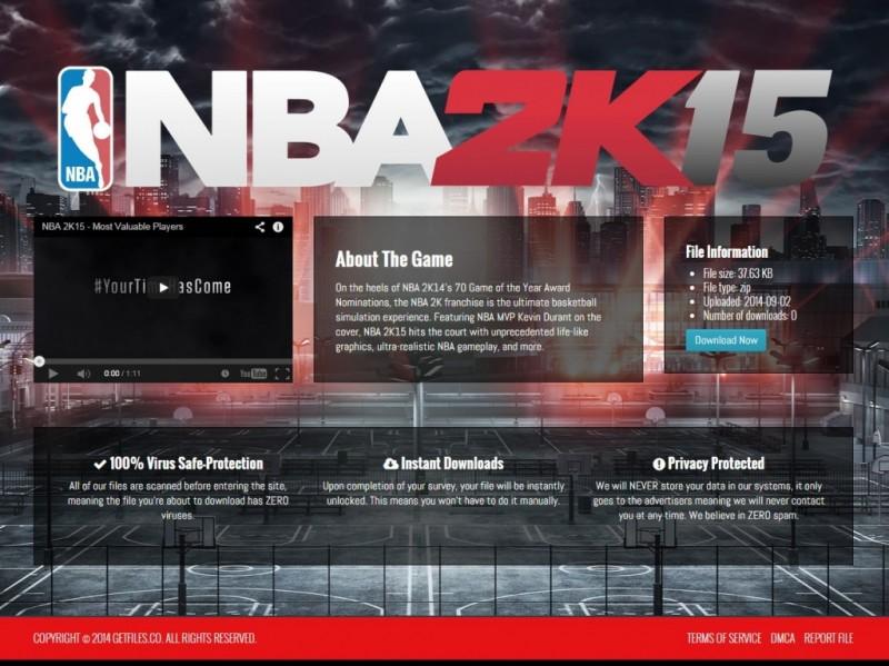 Download NBA 2K15 File Locker -Template
