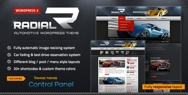 Download Radial v2.0.8 – Themeforest Premium Automotive & Tech WordPress Theme (Latest Version)