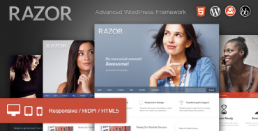 Download Razor v1.1.8 – Themeforest Cutting Edge WordPress Theme
