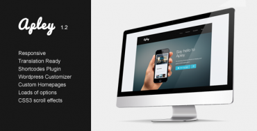 Download Apley v1.2 – Themeforest mobile application landing page