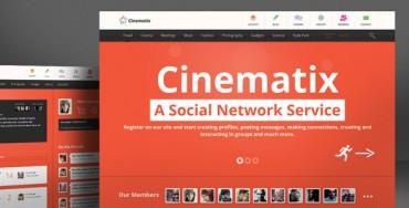 Download Cinematix v1.1.7 – Themeforest BuddyPress Theme