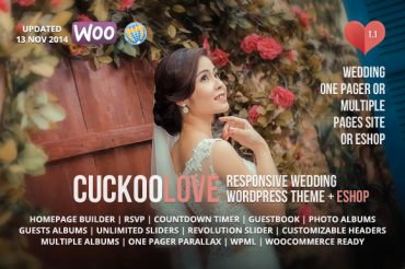 Moreno v8.0 – Responsive Wedding WordPress Theme