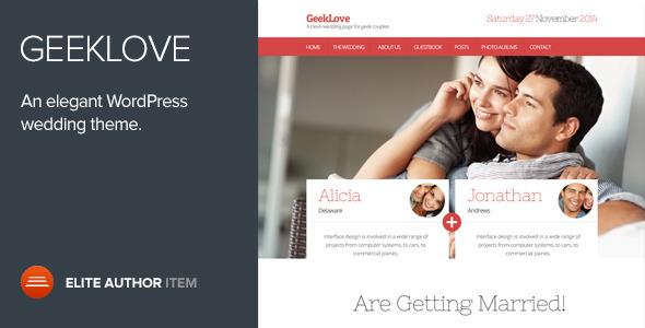 Download GeekLove – Themeforest Responsive WordPress Wedding Theme