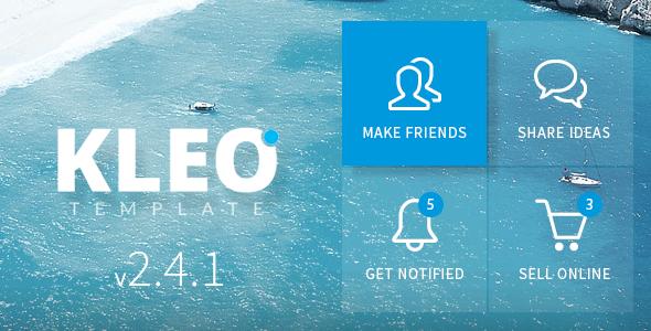 KLEO v2.4.3 – Next level Premium WordPress Theme