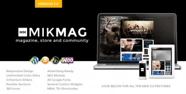 Download MikMag v3.0 – Responsive, Buddypress and Woocommerce