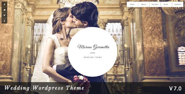 Moreno v7.0 – Responsive Wedding WordPress Theme