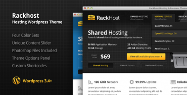 Download Rackhost v1.4 – Themeforest Hosting WordPress Theme