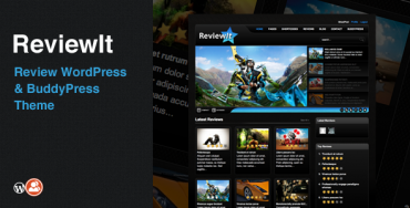 ReviewIt v6.1.3.2 – Review WordPress & BuddyPress Theme
