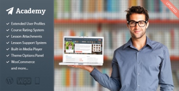 Download Academy v2.4 – Themeforest Learning Management Theme