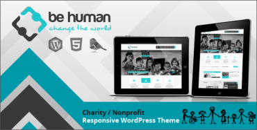 Download Be Human v2.1.0 – Themeforest Charity Multipurpose WP Retina Theme
