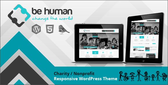 Download Be Human v2.1.0 – Themeforest Charity Multipurpose WP Retina Theme