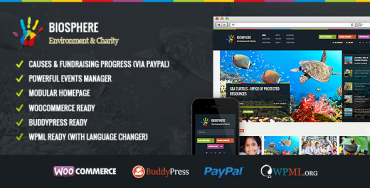 Download Biosphere v1.0.6 – Themeforest Environmental & Charity WP Theme
