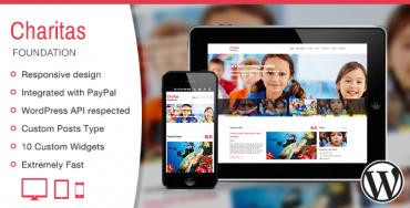 Download Charitas – Themeforest Foundation WordPress Theme