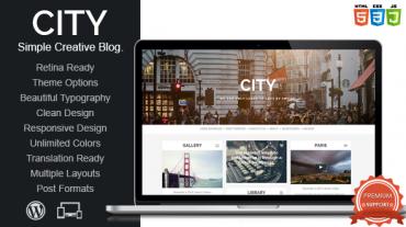 City – Mojothemes Retina Responsive Creative Blog