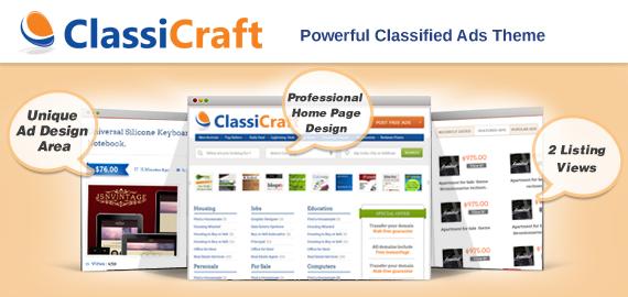 Download ClassiCraft – Inkthemes Classified Ad Listing WordPress Theme