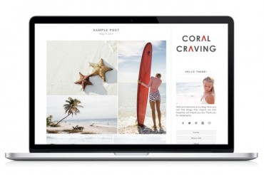 Coral Craving – Creativemarket Responsive WP Theme