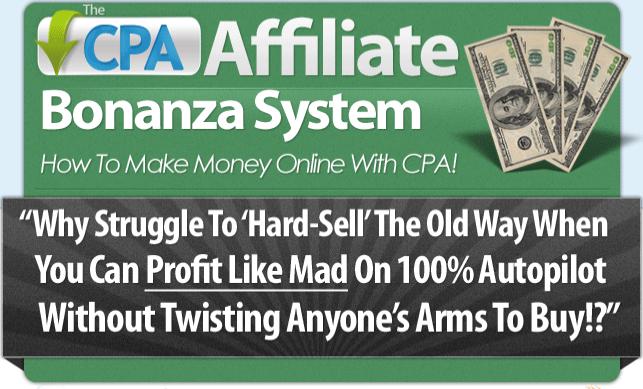 Download CPA Affiliate Bonanza Ebook Free