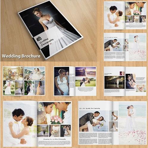Download Wedding Brochure PSD
