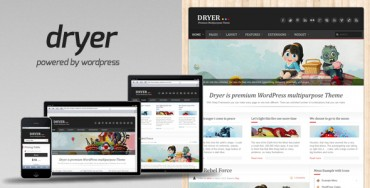 Dryer v2.6.1 – Multipurpose WordPress Theme