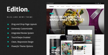 Edition v1.5 – Responsive News and Magazine Theme