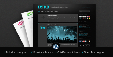 Fast Blog v1.7.3 – Themeforest Premium Theme