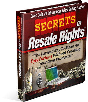 Download Secrets of Resale Rights Full Free