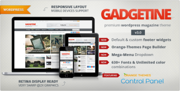 Gadgetine v3.0 – WordPress Theme for Premium Magazine