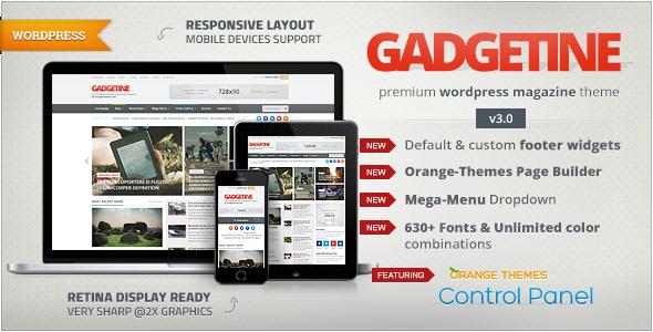Gadgetine v3.0 – WordPress Theme for Premium Magazine