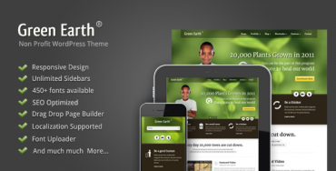 Download Green Earth v1.07 – Environmental WordPress Theme (Latest Version)