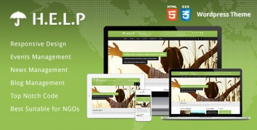 Download HELP v1.0.5 – Themeforest NGO WordPress Theme