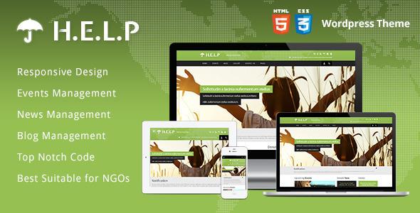 Download HELP v1.0.5 – Themeforest NGO WordPress Theme