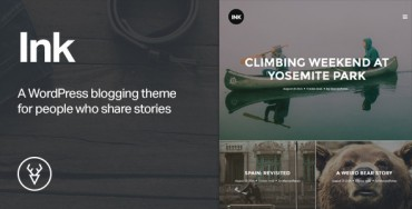Ink v1.2.7 – A WordPress Blogging theme to tell Stories