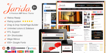 Jarida v2.2.1 – Responsive WordPress News, Magazine, Blog