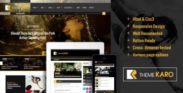 Karo – Magazine WordPress theme