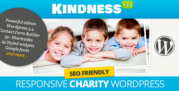 Kindness v1.3 – Premium WordPress Theme