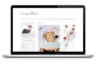 Mango Street – Creativemarket WordPress Theme