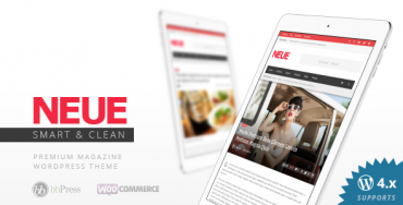 NEUE v1.7.1 – Themeforest Smart & Modern Magazine Theme