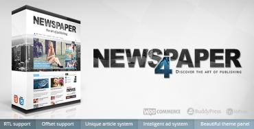 Newspaper v4.6 – Best WordPress Magazine Theme
