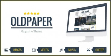OldPaper v1.4 – Ultimate Magazine & Blog Theme