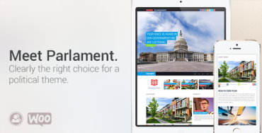 Download Parlament v2.0.2 – Themeforest Political WordPress Theme