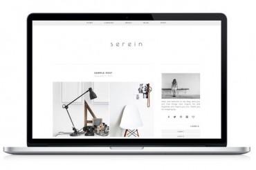 Serein – Creativemarket Responsive WP Theme