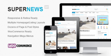 SuperNews – Ultimate WordPress Magazine Theme