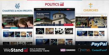 Download Westand v1.2 – Multi Purpose WordPress Theme