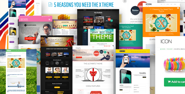 Download X v1.6.0 – Themeforest The Ultimate WordPress Theme